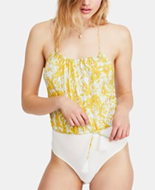 Free People Liza Bodysuit