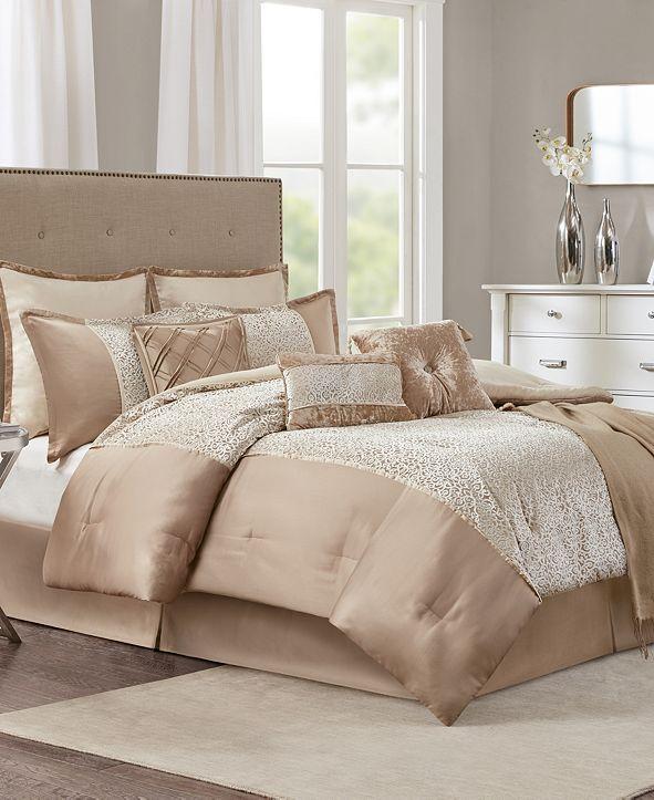 JLA Home CLOSEOUT! Yasmina 10-Pc. Full Comforter Set