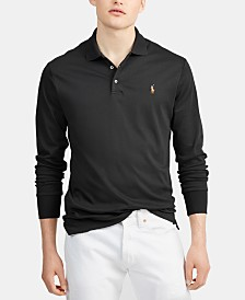 Polo Ralph Lauren Men's Long Sleeve Soft-Touch Pima Polo Shirt