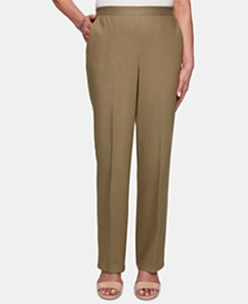 Alfred Dunner Petite Lake Tahoe Pull-On Pants
