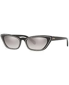 Miu Miu Sunglasses, MU 10US 53