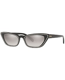 Miu Miu Sunglasses, MU 10US 53