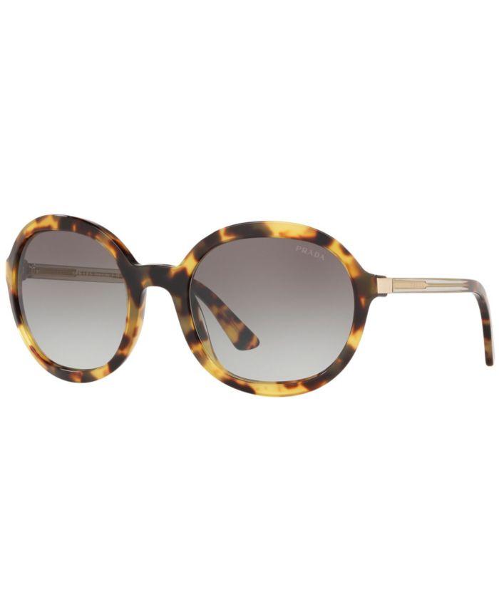 Prada Sunglasses, PR 09VS 56 HERITAGE & Reviews - Sunglasses by Sunglass Hut - Handbags & Accessories - Macy's