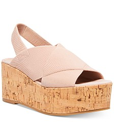 STEVEN by Steve Madden Women's Caly Stretch Wedges