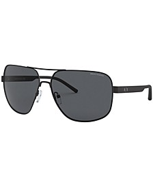 Armani Exchange Sunglasses, AX2030S 64