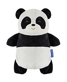 Toddler and Big Papo The Panda 2-in-1 Stuffed Animal Hoodie