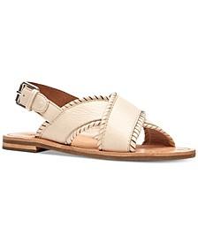 Women's Robin Feather Flat Sandals