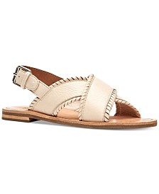 Frye Women's Robin Feather Flat Sandals