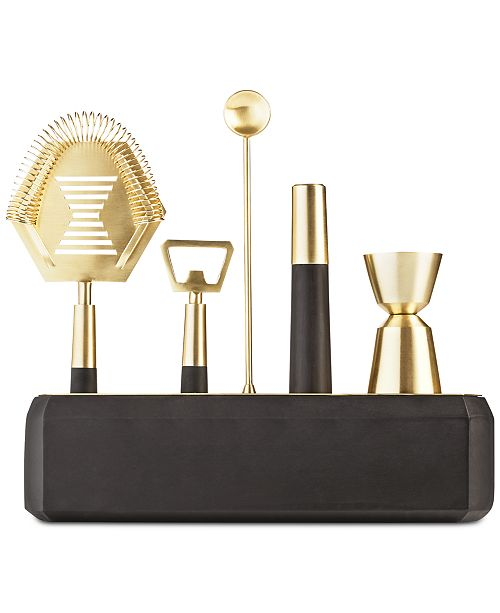 Hotel Collection 6-Pc. Bar Tool Set, Created for Macy's