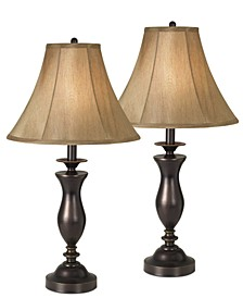 home by Pacific Coast New England Village Set of 2 Table Lamps