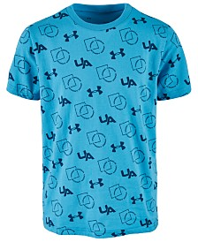 Under Armour Big Boys Sportstyle-Print T-Shirt
