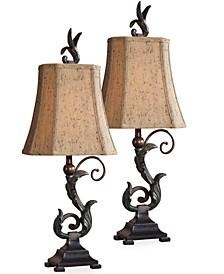 Set of 2 Caperana Table Lamps