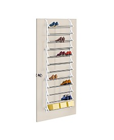 Lynk 36 Pair Over Door Shoe Rack