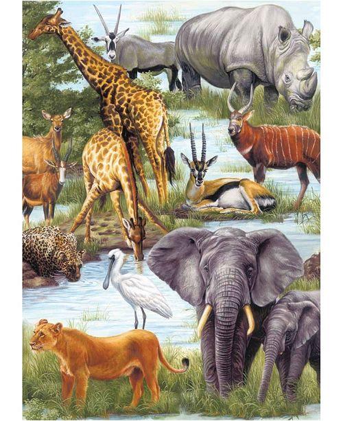 Springbok Puzzles Animal Kingdom Children's Jigsaw Puzzle 60 Piece Jigsaw Puzzle