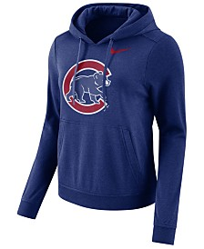 Nike Women's Chicago Cubs Club Pullover Hoodie