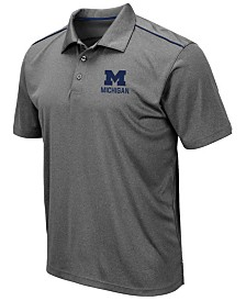 Colosseum Men's Michigan Wolverines Eagle Polo