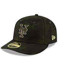 New York Mets Armed Forces Day Low Profile 59FIFTY Fitted Cap