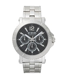 Versus Men's Silver Bracelet Watch 22mm