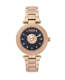 Versus Women's Rosegold Bracelet Watch 20mm
