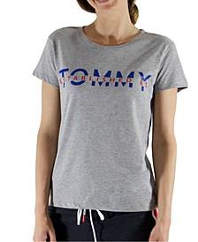 Women's Logo-Print Pajama T-Shirt R22S289