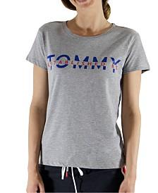 Tommy Hilfiger Women's Logo-Print Pajama T-Shirt R22S289