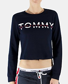 Tommy Hilfiger Logo-Print French Terry Sleep Top