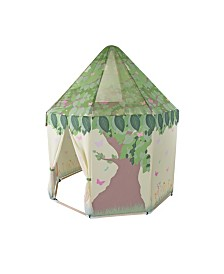 Pacific Play Tents Butterfly Garden Peach Skin Woodframe Pavilion