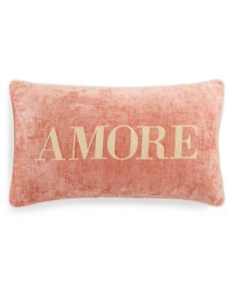 "Amore 14"" x 24"" Decorative Pillow"
