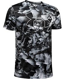 Big Boys Printed Big Logo T-Shirt
