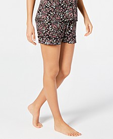 Cotton Printed Sleep Shorts, Created for Macy's