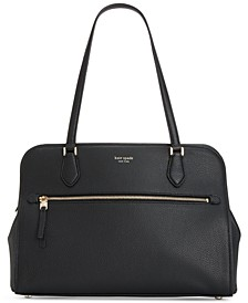 Polly Large Pebble Leather Work Tote