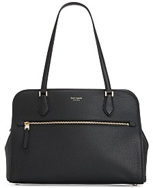 kate spade new york Polly Large Pebble Leather Work Tote
