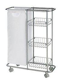 Wenko Slim Collecting Trolley