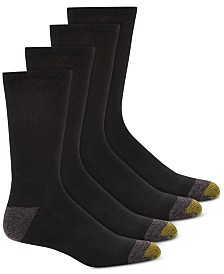 Gold Toe Men's 4-Pk. Circuit Athletic Crew Socks