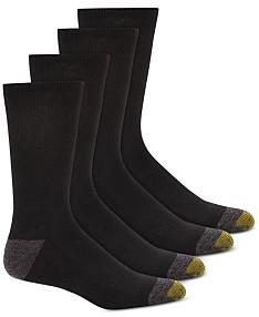 014fb4bb818bc Gold Toe Men's 4-Pk. Circuit Athletic Crew Socks
