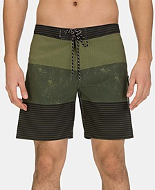 "Men's Phantom Brigade 18"" Graphic Board Shorts"