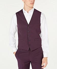 INC Men's Slim-Fit Skull-Lined Vest, Created for Macy's
