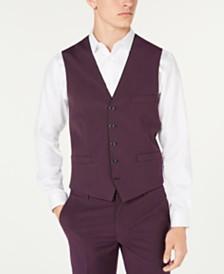 I.N.C. Men's Slim-Fit Skull-Lined Vest, Created for Macy's