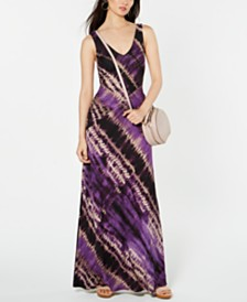 I.N.C. Printed Maxi Dress, Created for Macy's