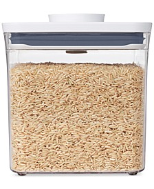 Pop Big Square Short Food Storage Container