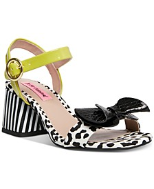 Lanore Ankle Strap Bow Sandals