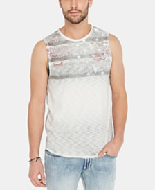 Buffalo David Bitton Men's Tuless Graphic Tank