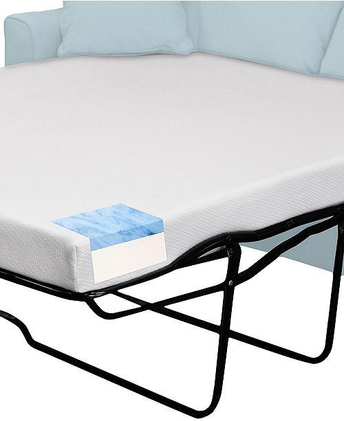 4 5 Gel Memory Foam Sleep Sofa Replacement Mattress Mattress Only Queen