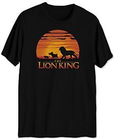 Lion King Sunset Men's Graphic T-Shirt