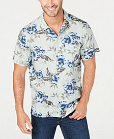 Men's Regular-Fit Floral-Print Shirt