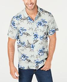 Lucky Brand Men's Regular-Fit Floral-Print Shirt