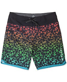 "Rip Curl Men's Mirage Mason Haze 19"" Board Shorts, Created for Macy's"