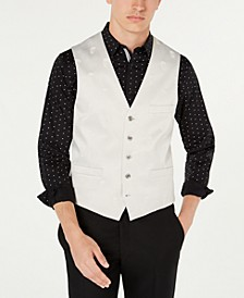 INC Men's Slim-Fit Skull Vest, Created for Macy's