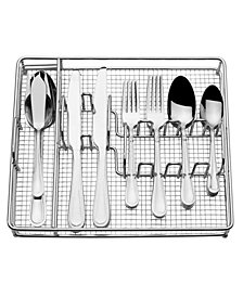 International Silver Forte 45-PC Flatware Set With Metal Caddy, Created for Macy's