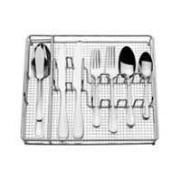 International Silver Forte 45-PC Flatware Set With Metal Caddy Deals